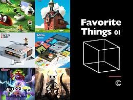C4D #Favorite things 01