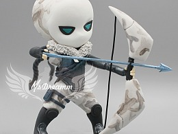 MsDreamm 白色死神韦鲁斯 英雄联盟lol维鲁斯手办模型