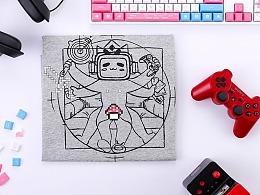 bilibili-游戏区T恤设计