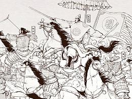 个人创作——《大明卷》全草图