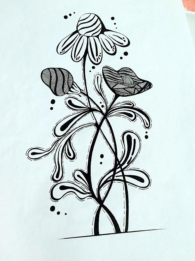 针管笔手绘,画画是一种享受