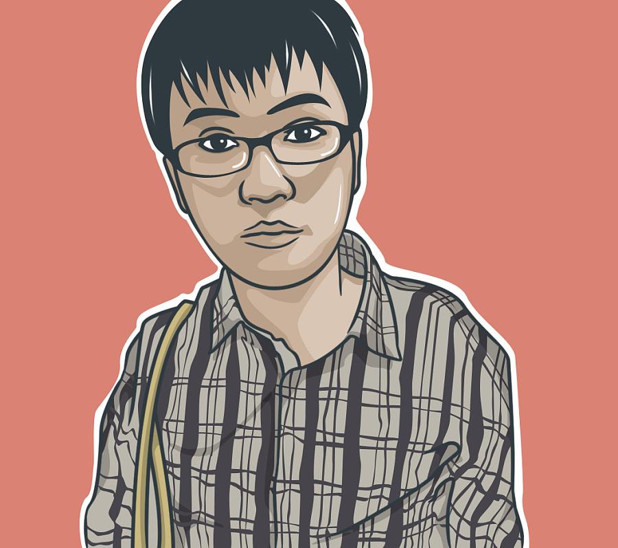 人物动画手绘形象设计|肖像漫画|动漫|wuykn - 原创