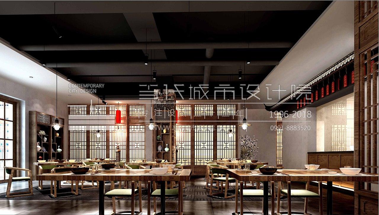 当代夏装设计院|甘肃人家服装空间设计手绘餐饮城市设计图图片