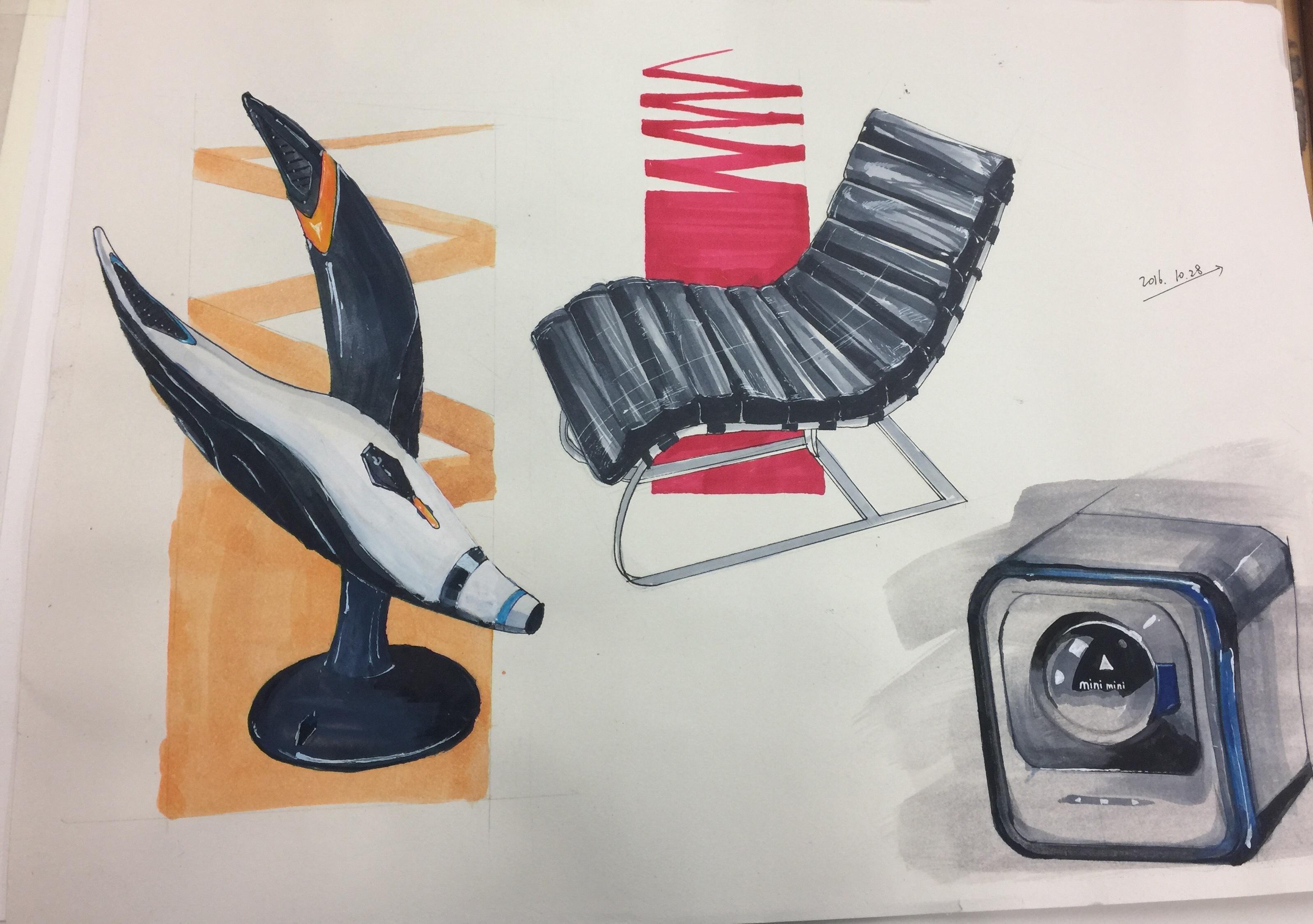 工业设计 汽车手绘|工业/产品|交通工具|得即高歌