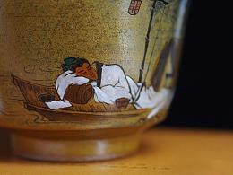 【造物集】陶瓷主人杯:入梦。茶器。