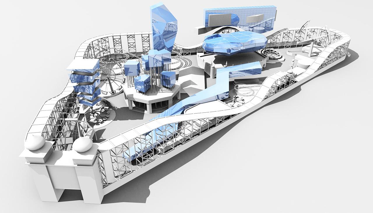 定居游乐场-建筑概念设计-第一篇幅图片
