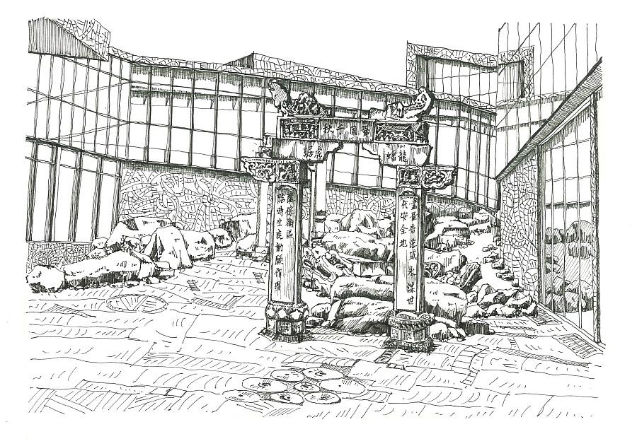 简笔画 手绘 素描 线稿 900_631