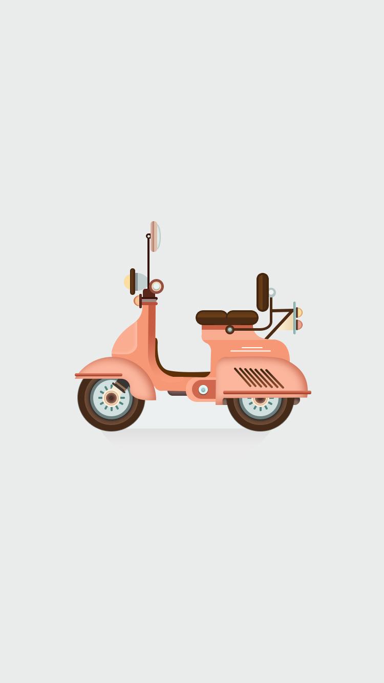 粉色 小电驴
