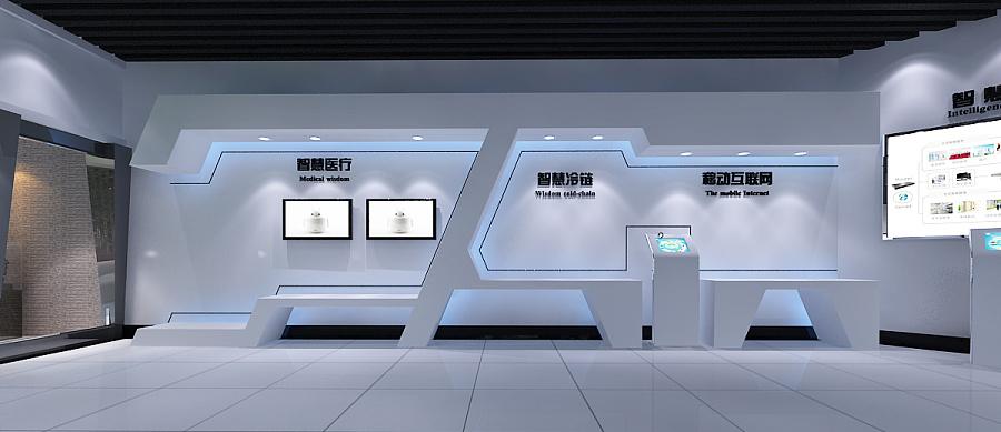 惠通智曲线科技|绘制/展厅/函数v曲线|店面/建cad二次橱窗展示空间图片