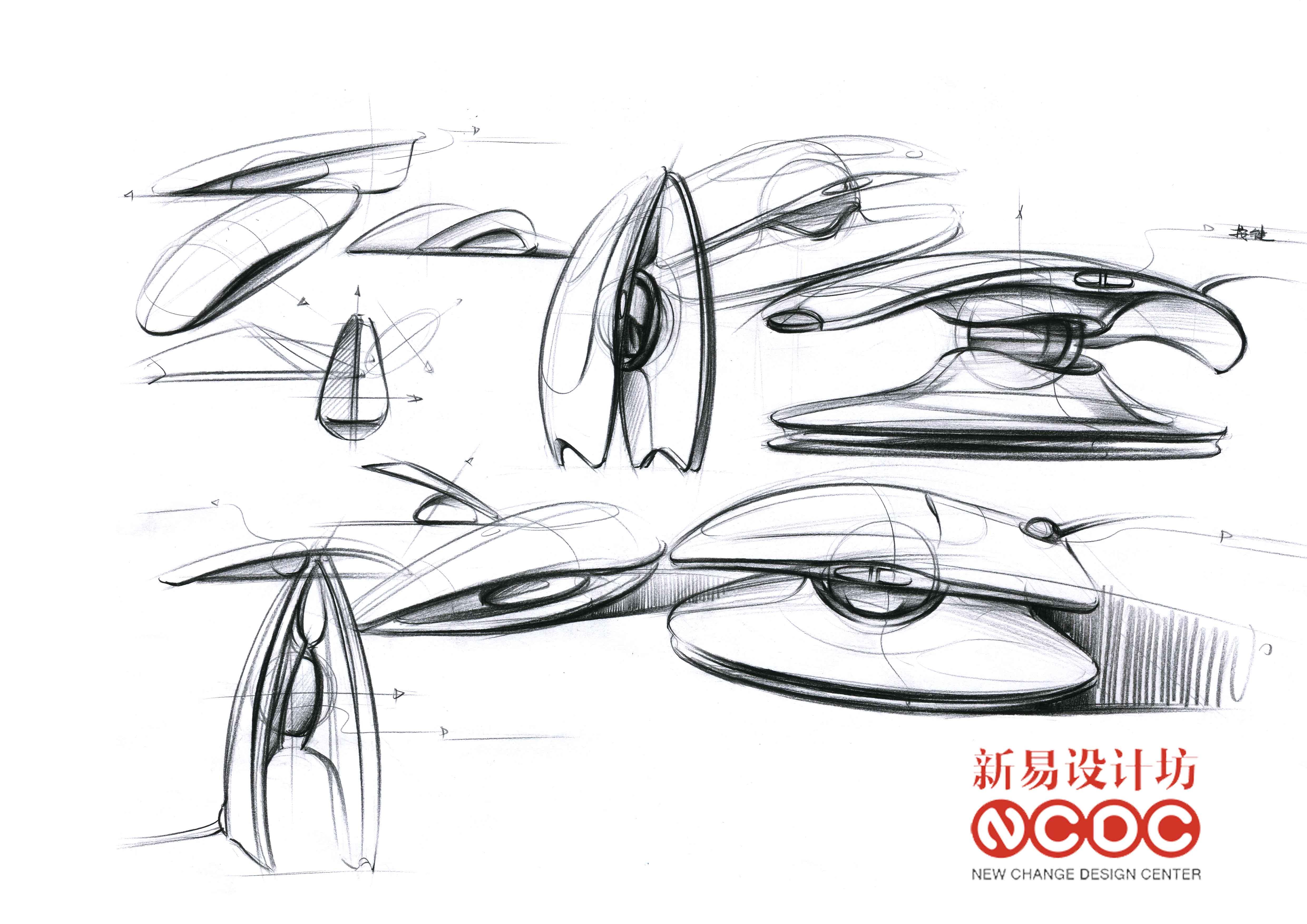 新易设计坊;工业设计手绘;手绘超精致表达图片