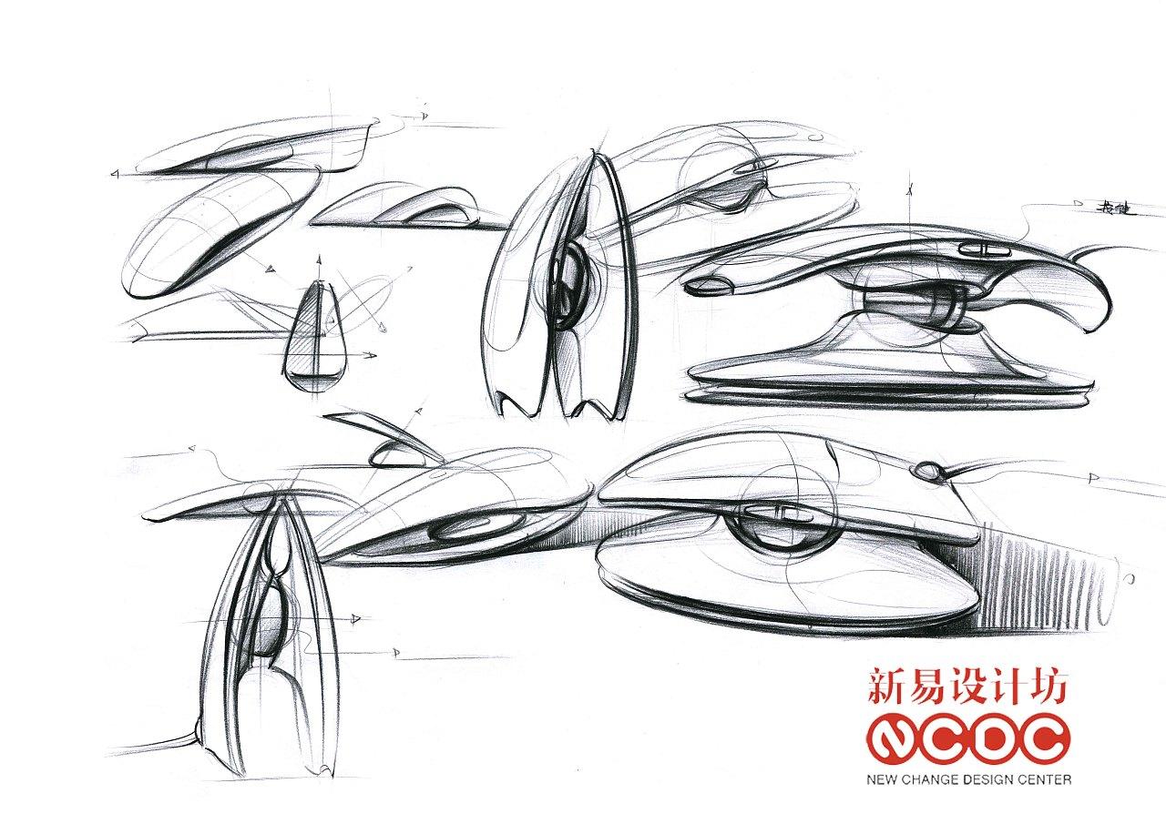 新易设计坊;工业设计手绘;手绘超精致表达;|工业/产品