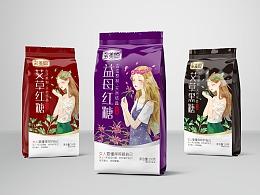 善行研创—多美聪女性红糖黑糖系列产品包装设计