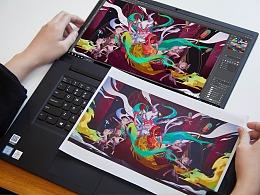 柴霖霖 x ThinkPad X1隐士 | 写进DNA里的绘画天赋