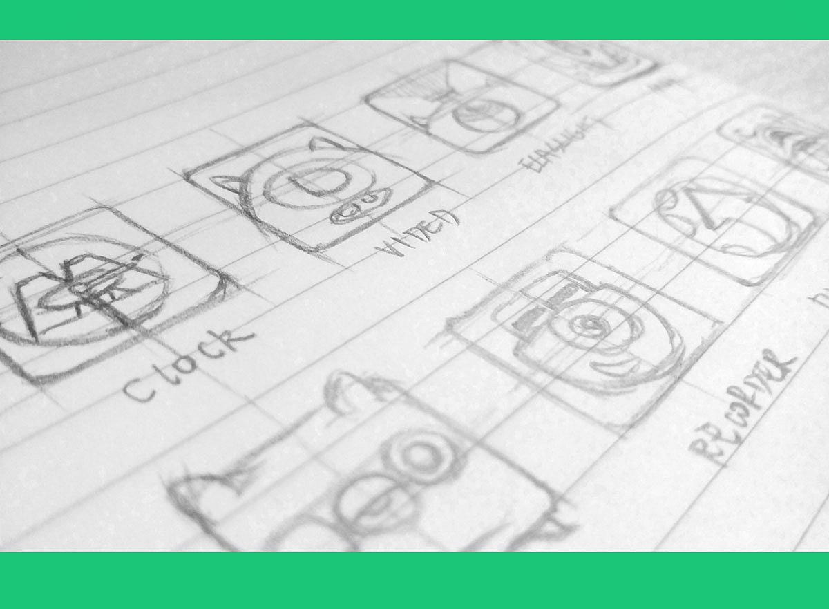 怪兽大学系列 原创手绘图标icon