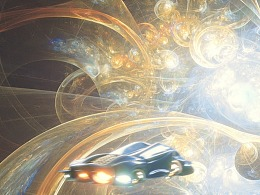 EX浪客的空间穿越飞行器