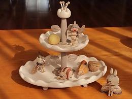 diga-橙子花盘-Moil's handmade