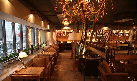 专业柳州咖啡厅装修设计《1950欧陆天瑞咖啡店》图片