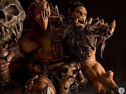 29寸 史诗系列 电影《魔兽》-黑手BLACKHAND 精致雕像