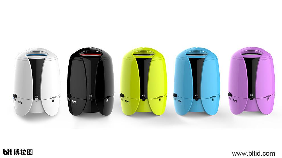 蓝牙音箱产品设计开发