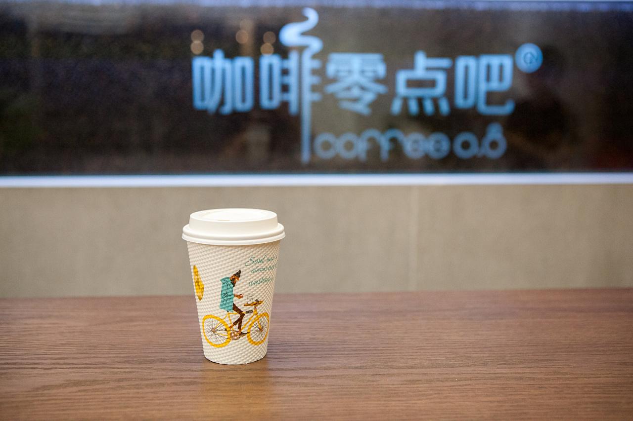 传统咖啡找星巴克,新零售咖啡看零点吧