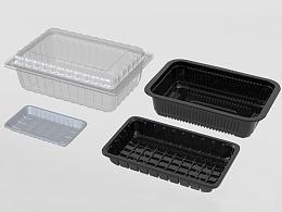 电商生鲜食品包装盒 冰鲜肉类包装盒  超市生鲜包装盒