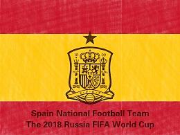 2018年世界杯绘画系列——巡礼伊比利亚斗牛士西班牙队