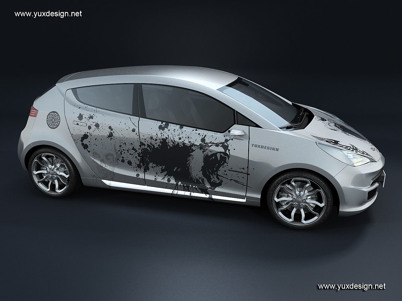 工业产品设计网站_Flatiron汽车网站互动展示|工业/产品|交通工具|yuxdesign - 原创作品 ...