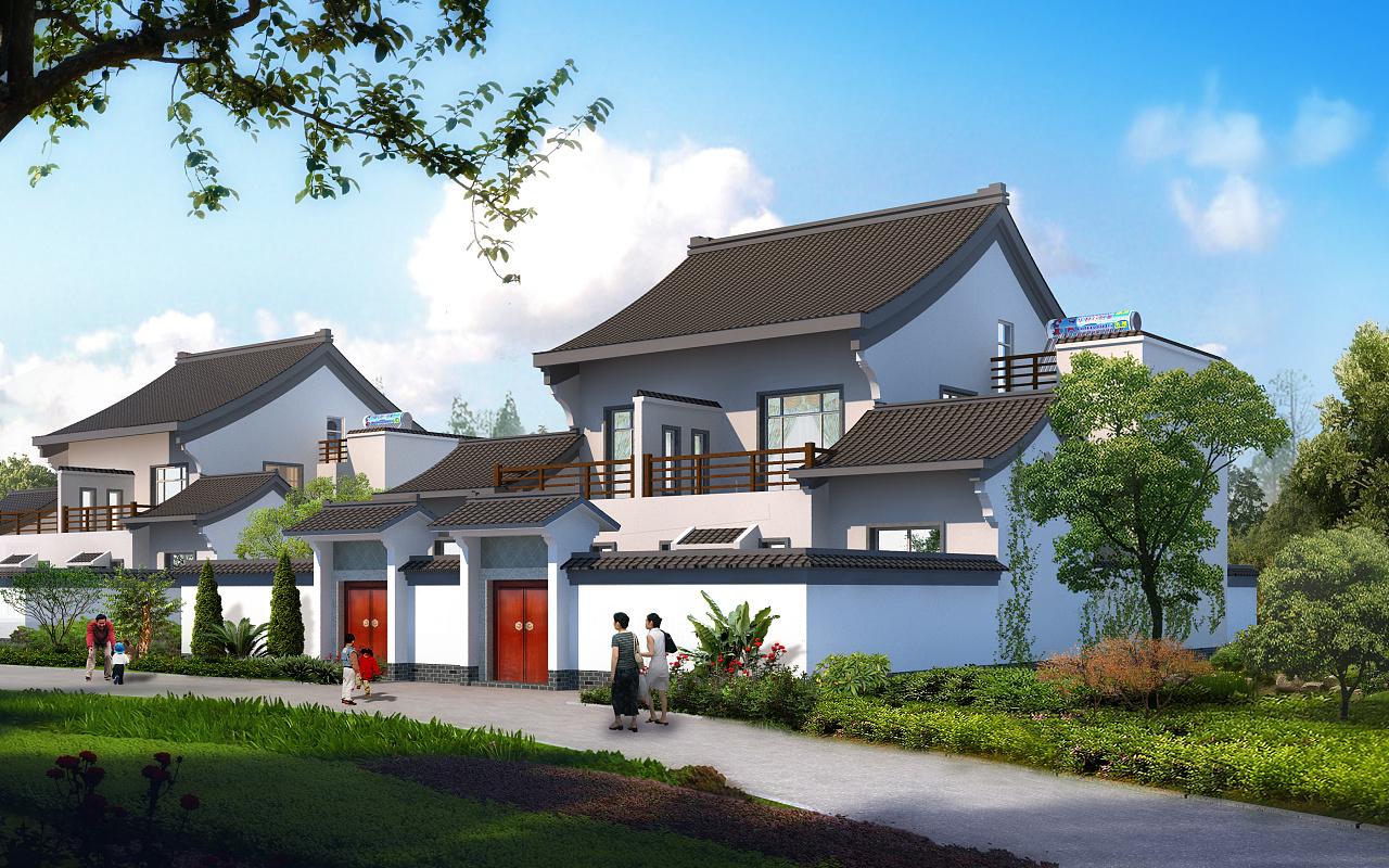 室外建筑透视日景效果图!100张无水印高清大图!