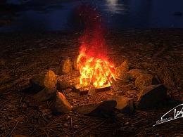 学渣成长记--河边篝火教学篇