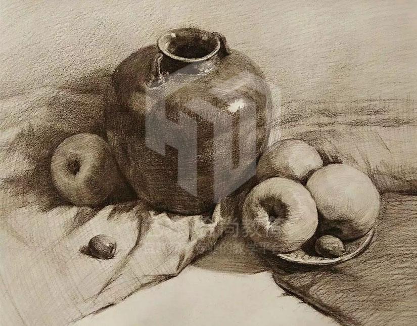 素描画 铅笔画 彩色铅笔画|其他|墙绘/立体画|大师兄
