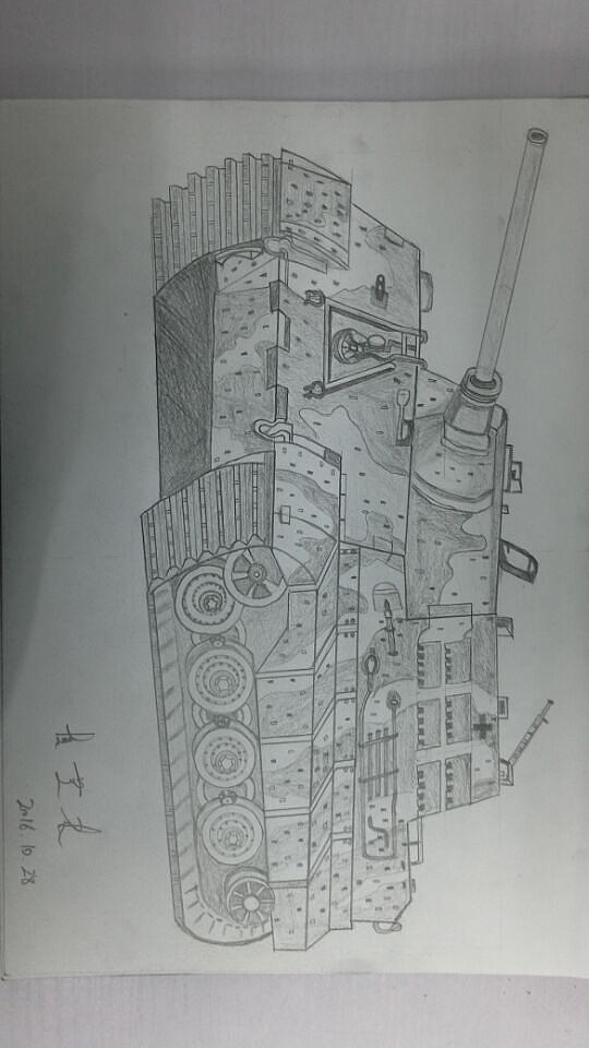 军事武器简笔画