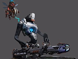 【原创 多图】《虚幻争霸》角色格瑞姆.exe设计系列图