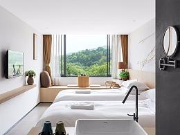 酒店建筑拍摄-杭州民宿