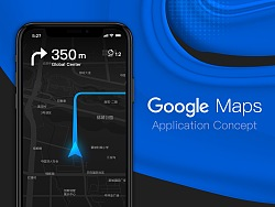 Google Maps 交互界面重设计