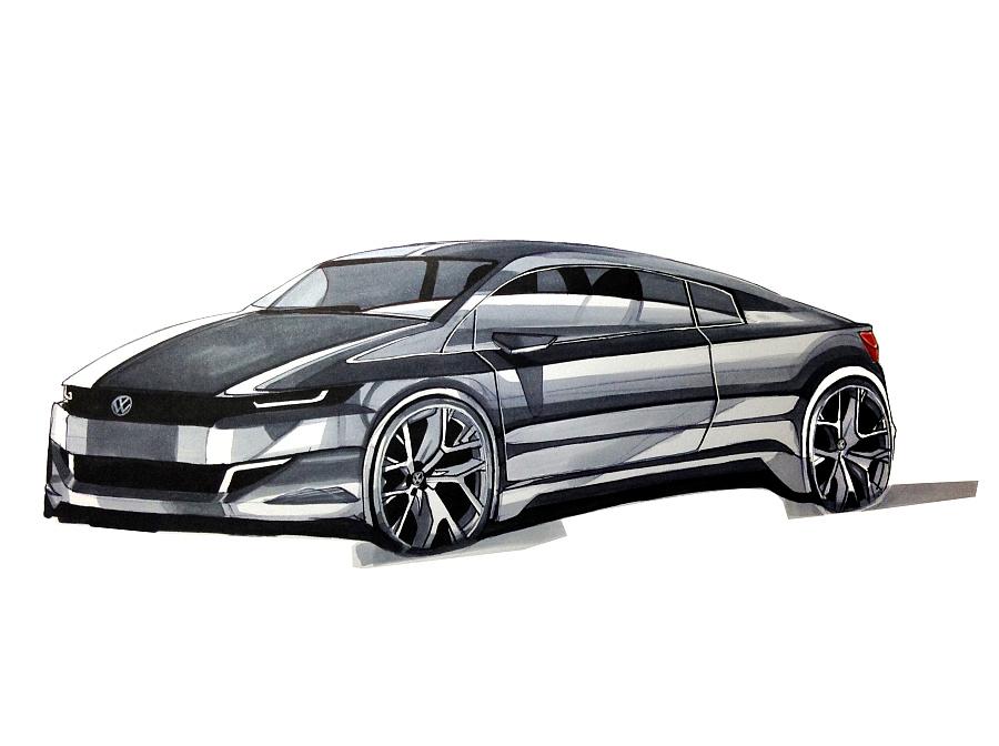 汽车手绘练习|交通工具|工业/产品|周小者 - 原创设计