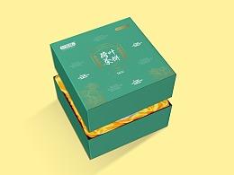 忆荷塘-茶饼礼盒包装设计