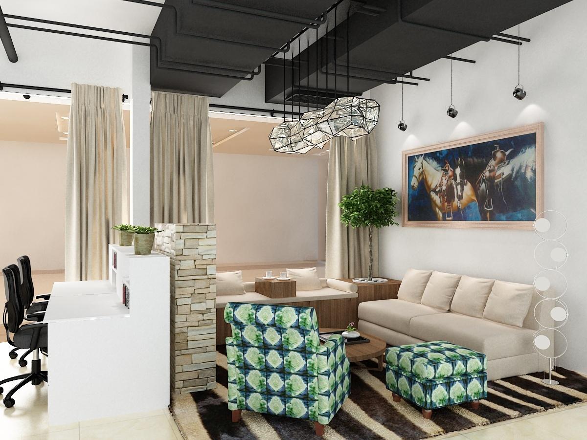 办公室休息区|空间|室内设计|guoxiang137 - 原创作品