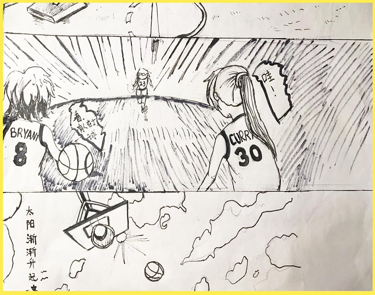 手绘动漫小作业|动漫|短篇/四格漫画|bystanders
