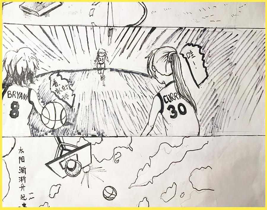 手绘动漫小作业|短篇/四格漫画|动漫|bystanders