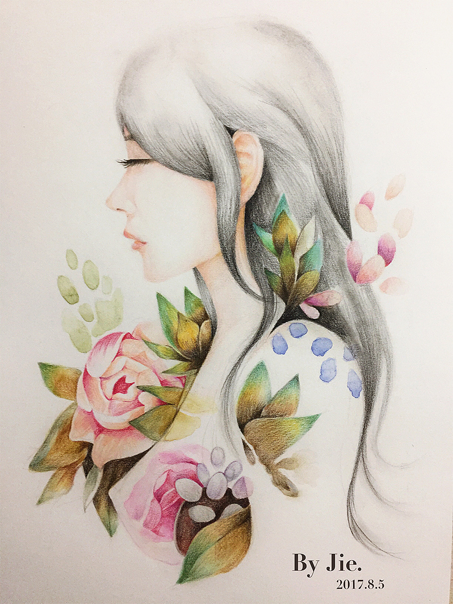 彩铅手绘|纯艺术|彩铅|jack丶j - 原创作品 - 站酷