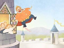 绘本《十二个爱跳舞的公主》系列