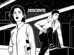 DESCENTE七夕宣传动画制作