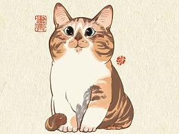画猫的第三季200天,887天的画猫纪录