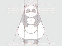 小猫咪和熊猫形象设计