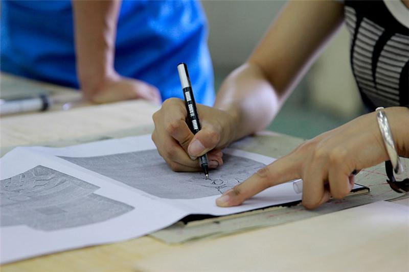 木刻版画制作过程步骤教程|手办/原型|手工艺|庐山特