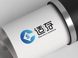 LOGO 跨进电商类 互联网科技销售 电商logo