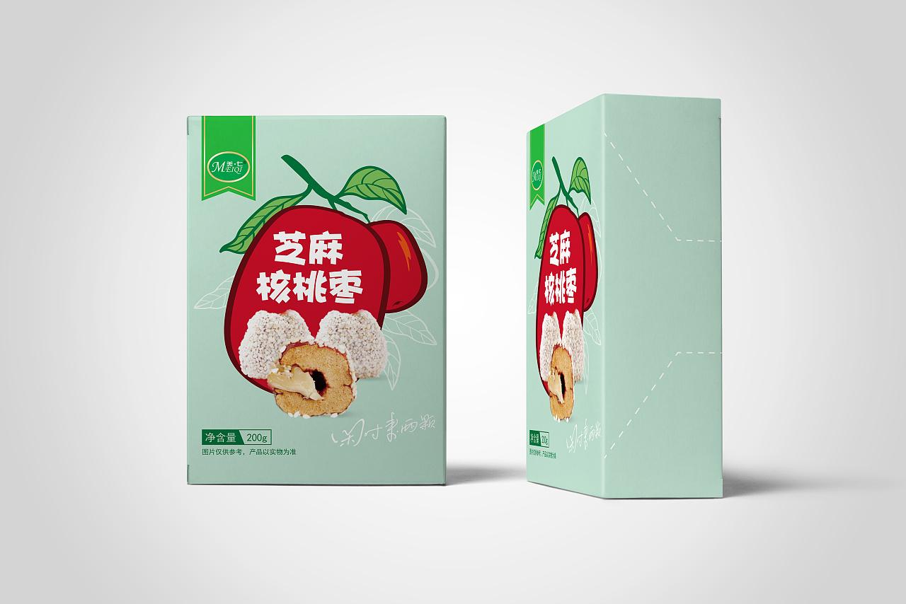 干果食品包装设计 坚果食品包装设计 休闲零食包装设计图片