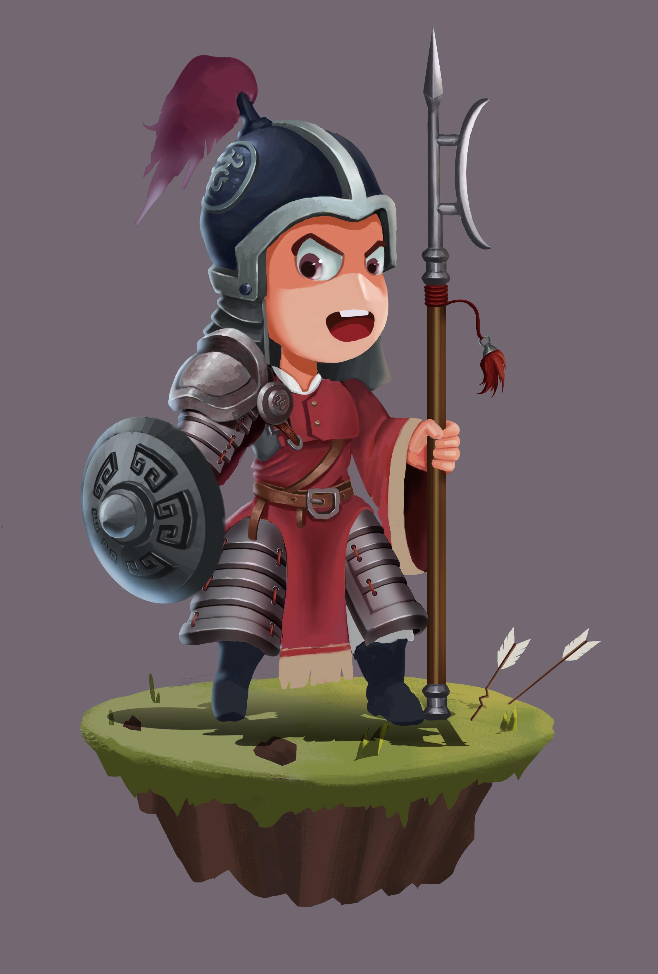 q版古代士兵