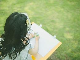 写生的女孩