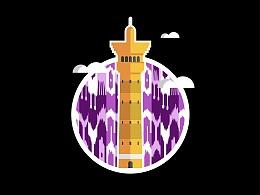 URUMQI|建筑小插图